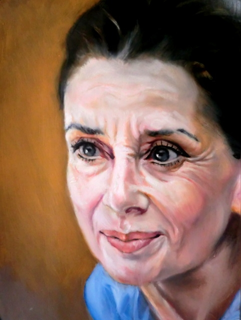 Audrey Hepburn by hidemitada